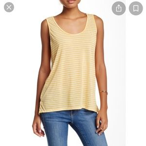 Mel rose and Market  Stripes Yellow Small